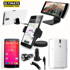 The Ultimate Pack for the OnePlus One consists of fantastic must have accessories designed specifically for the OnePlus One.