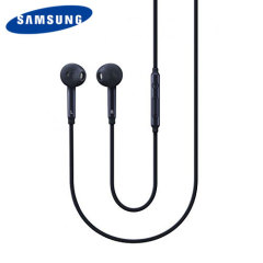 The S6 Edge stereo headset comes in a classic black design that provides a comfortable fit. The official Galaxy S6 Edge earphones also provide exceptional sound reproduction and enable you to handle calls handsfree thanks to the mic and volume controls.