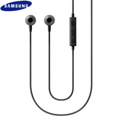 Enjoy your music on the go with this official pair of Samsung In-Ear Stereo Headphones. With a built-in remote, this headset is ideal for use with smartphones or tablets and great for listening and controlling your music and calls completely hands-free.