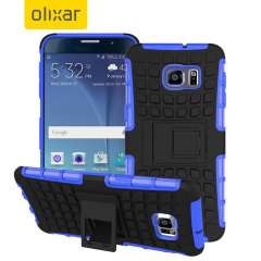 Olixar ArmourDillo Hybrid Samsung Galaxy Note 5 Case - Blue