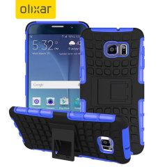 Proteja su Galaxy Note 5 con esta resistente funda compuesta de una capa TPU y otra resistente a impactos.