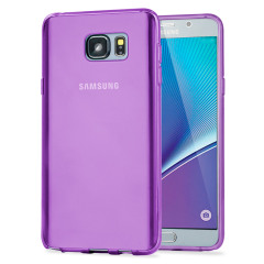 Custom moulded for the Samsung Galaxy Note 5. This purple Encase FlexiShield case provides a slim fitting stylish design and durable protection against damage, keeping your device looking great at all times.