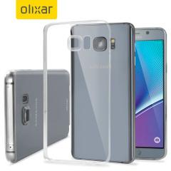 Custodia FlexiShield Ultra-Thin per Galaxy Note 5 - 100% Trasparente