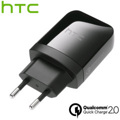 Official HTC Qualcomm Quick Charge 2.0 EU Wall Charger Adapter - 15W