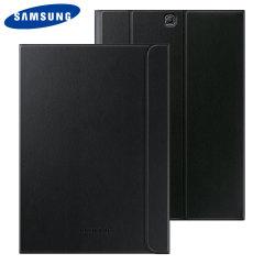 Gardez votre Samsung Galaxy Tab S2 9.7 à l'abri des dommages avec cette Book Cover officielle dotée d'un support de visualisation.