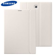 Keep your Samsung Galaxy Tab S2 9.7 protected from damage with this official white Samsung book cover with integrated multi-level stand.