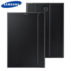 Keep your Samsung Galaxy Tab S2 8.0 protected from damage with this official black Samsung book cover with integrated multi-level stand.