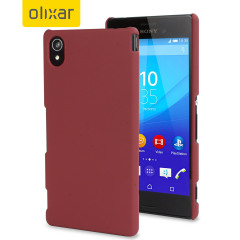 ToughGuard Sony Xperia M4 Aqua Hybrid Rubberised Case - Red