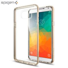 Custodia Spigen Neo Hybrid Crystal per Galaxy Note 5 - Oro
