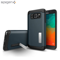 Spigen Slim Armor Samsung Galaxy Note 5 Case - Metal Slate