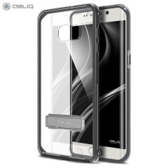 Cover Obliq Naked Shiled per Galaxy S6 Edge+ - Nero