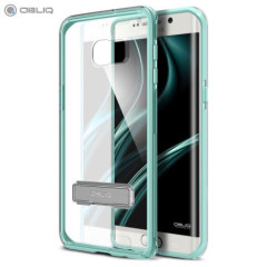 Cover Obliq Naked Shiled per Galaxy S6 Edge+ - Verde