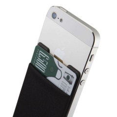 Smart Wallet Universal Smartphone Pocket - Black
