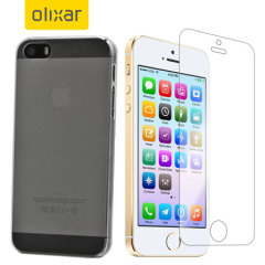 Olixar Total Protection iPhone 5S Case & Screen Protector Pack