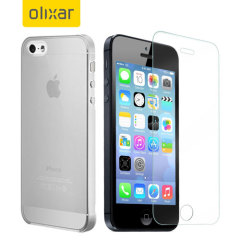 Olixar Total Protection iPhone 5 Case & Screen Protector Pack