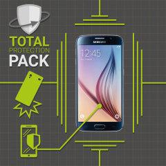 Pack Total Protection Olixar per Galaxy S6 - Custodia + Pellicola