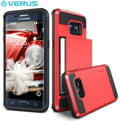 Verus Damda Slide Samsung Galaxy S6 Edge Plus Case - Crimson Red