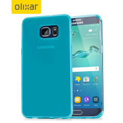 FlexiShield Samsung Galaxy S6 Edge Plus Gel Case - Blue