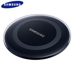 Wirelessly charge your Galaxy S6 Edge+ with ease using this official Samsung Qi Wireless Charger Pad featuring intelligent circuit protection.