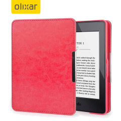 Olixar Leather-Style Kindle Paperwhite Case - Pink