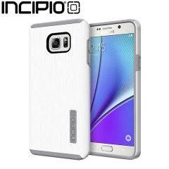 Incipio DualPro Shine Samsung Galaxy Note 5 Case - White / Light Grey
