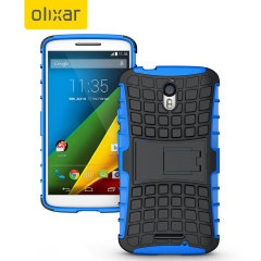 ArmourDillo Motorola Moto X Play suojakotelo - Sininen
