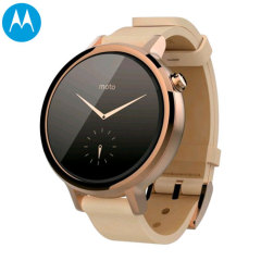 Motorola Moto 360 S 2nd Gen SmartWatch - Light Stainless Steel