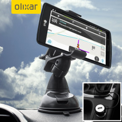 Olixar DriveTime LG G4 Kfz Halter & Lade Pack