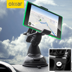 Essential items you need for your smartphone during a car journey all within the Olixar DriveTime In-Car Pack. Featuring a robust one-handed phone car mount and car charger with additional USB port for your Microsoft Lumia 735.