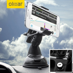 Essential items you need for your smartphone during a car journey all within the Olixar DriveTime In-Car Pack. Featuring a robust one-handed phone car mount and car charger with additional USB port for your Samsung Galaxy S5 Mini.