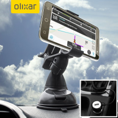 Essential items you need for your smartphone during a car journey all within the Olixar DriveTime In-Car Pack. Featuring a robust one-handed phone car mount and car charger with additional USB port for your Vodafone Smart Prime 6.