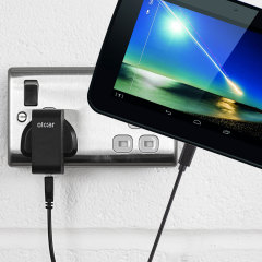 Charge your Tesco Hudl quickly and conveniently with this compatible 2.5A high power charging kit. Featuring mains adapter and USB cable.