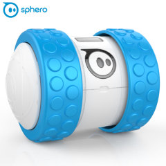 Introducing Sphero Ollie in blue / white with a new tubular design, extremely rugged robot controlled by your smartphone that performs impressive tricks and conquers any terrain with customisable tires and accessories.