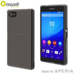 Muvit MFX MiniGel Sony Xperia Z5 Compact Case - Dark Smoke