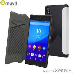 Muvit Easy Folio MFX Sony Xperia Z5 Case - White