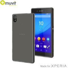 Muvit MFX MiniGel Sony Xperia Z5 Skal - Röksvart