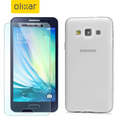 Guard your beautiful Samsung Galaxy A5 2015 from damage with the Olixar Total Protection Pack. Featuring a Flexishield gel case and an ultra-response glass screen protector, this pack provides the ultimate in lightweight protection.
