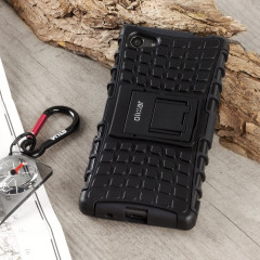 ArmourDillo Sony Xperia Z5 Compact Hülle in Schwarz