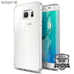 Custodia Ultra Hybrid Spigen per Samsung Galaxy S6 Edge Plus - Trasparente