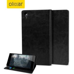 Olixar Sony Xperia Z5 Premium WalletCase Tasche in Schwarz