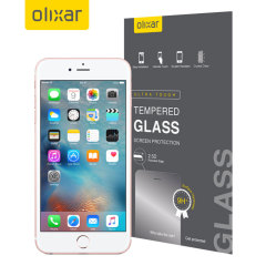 Olixar Tempered Glass iPhone 6S Displayschutz