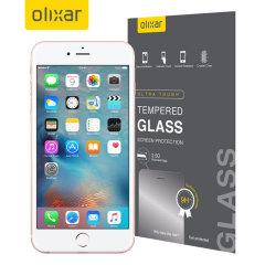 Olixar Tempered Glas iPhone 6S Plus Displayschutz