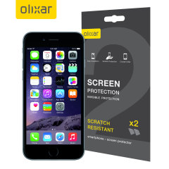 Pack de 2 Protection d'écran iPhone 6S Plus Olixar