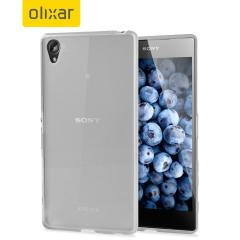 FlexiShield Case Sony Xperia Z5 Premium Hülle in Frost Weiß