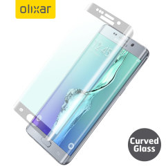 Olixar Galaxy S6 Edge Plus Curved Glass Screen Protector - Frosted