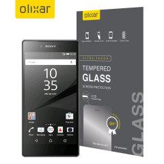 Pellicola protettiva in vetro temperato Olixar per Sony Xperia Z5
