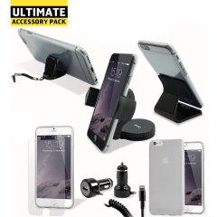 Ce pack ultime d'accessoires iPhone 6S Plus comprend tous les indispensables pour votre smartphone. Ce pack a été conçu pour protéger et ranger votre smartphone que ce soit à la maison, au bureau ou même dans votre véhicule.