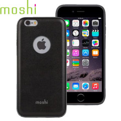Moshi iGlaze Napa iPhone 6S Vegan Leren Case - Black
