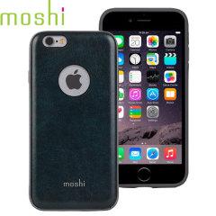 Moshi iGlaze Napa iPhone 6S Vegan Lederhülle in Blau
