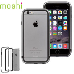 Moshi iGlaze Luxe iPhone 6S Bumper Case Hülle in Space Grey